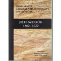 Jeles Szerzők 1860-1920