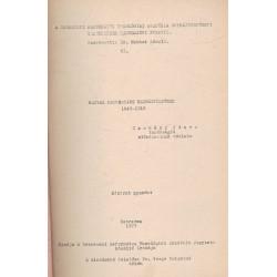 Magyar protestáns egyháztörténet 1849-1918
