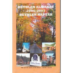 Bethlen almanac, naptár 2006-2007
