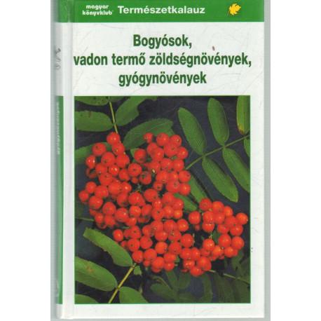 Bogyósok, vadon termő zöldségnövények, gyógynövények