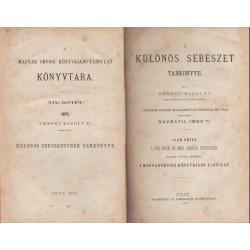 A különös sebészet tankönyve