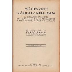 Méhészeti rádiótanfolyam 1938