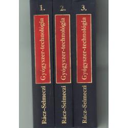 Gyógyszertechnológia 1-3 kötet