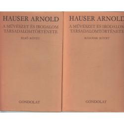 A művészet és irodalom társadalomtörténete 1-2 kötet