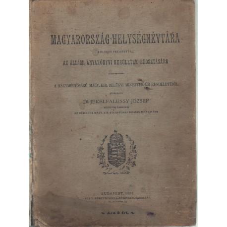 Magyarország-helységnévtára