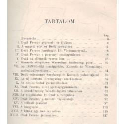 Deák Ferenc Élet- és jellemrajz