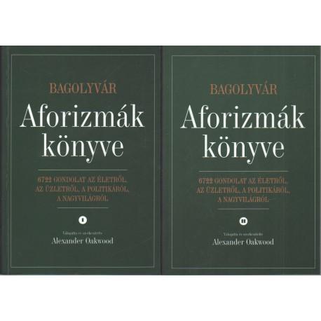 Aforizmák könyve I-II. kötet