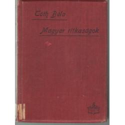 Magyar ritkaságok