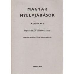 Magyar nyelvjárások XXVI-XXVII (dedikált)