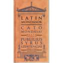 Latin mondások
