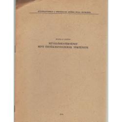 Művelődéstörténet mint értékrendszerek története (dedikált)
