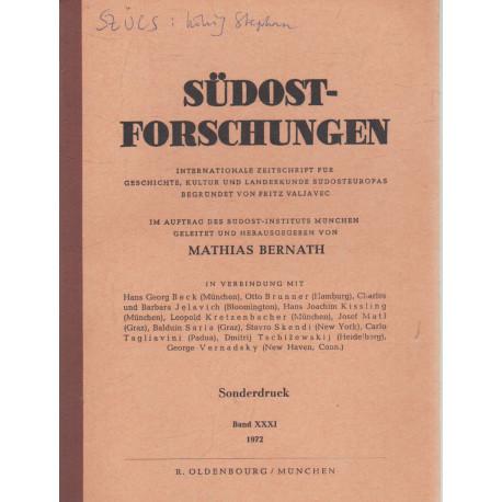 Südostforschungen (dedikált)