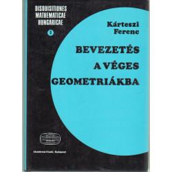 Bevezetés a véges geometriákba