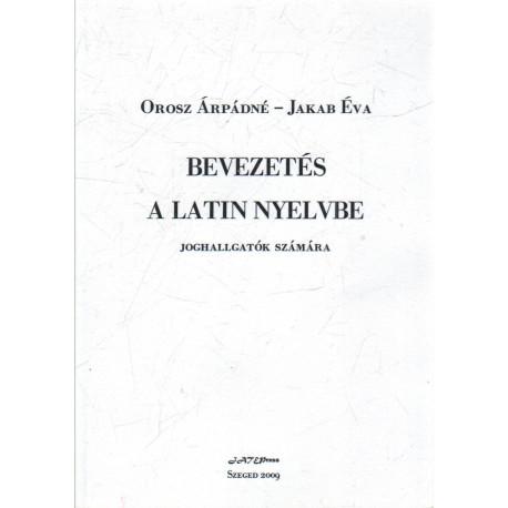 Bevezetés a Latin nyelvbe