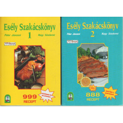 Esély szakácskönyv I-II.