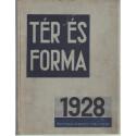Tér és forma 1928. évf. teljes