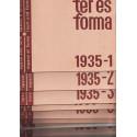 Tér és forma 1935. évf. teljes