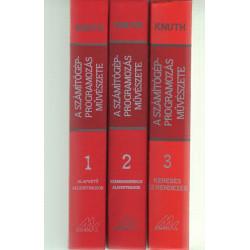 A számítógép-programozás művészete 1-3 kötet