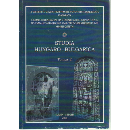 Studia Hungaro- Bulgarica