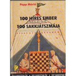 100 híres ember 100 sakkjátszmája