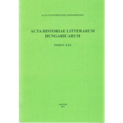 Acta Historiae Litterarum Hungaricarum