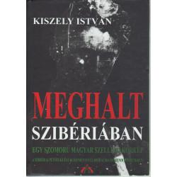 Meghalt Szibériában