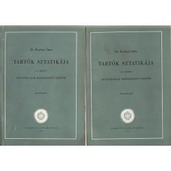 Tartók Sztatikája 1-2 kötet ( 4 kötetben )