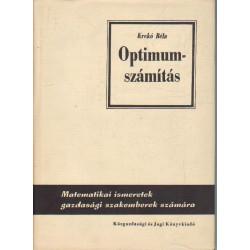 Optimum számítás ( matematikai ismeretek gazdadsági szakemberek számára )