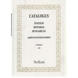 Catalogus Fontium Historiae Hungaricae I-III kötet