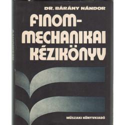 Finom mechanikai kézikönyv