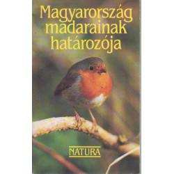 Magyarország madarainak határozója.