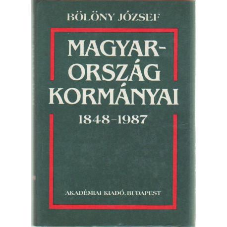 Magyarország kormányai 1848-1987