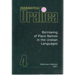 Onomastica Uralica 4. ( Angol nyelvű )