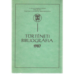 Történeti bibliográfia