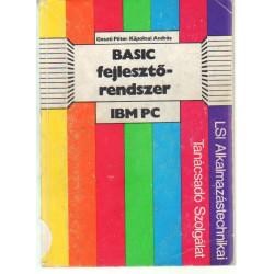 Basic fejlesztő rendszer IBM PC