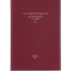 Szegedi egyetemi Almanach (1921-1996)