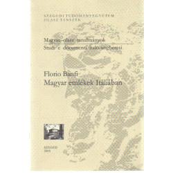 Magyar emlékek Itáliában. ( Magyar - olasz tanulmányok )
