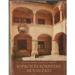 Sopron és környéke műemlékei