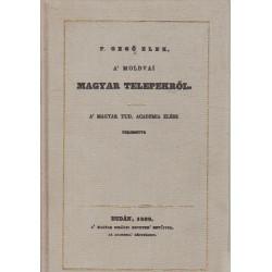 Magyar telepekről