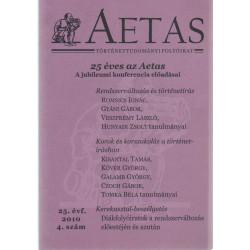 Aetas -Történettudományi folyóirat