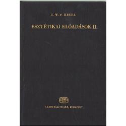 Esztétikai előadások II. kötet