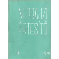Néprajzi értesítő 1970.