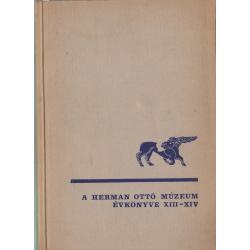 A Herman Ottó Múzeum évkönyve XIII-XIV.