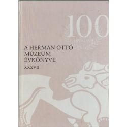 A Herman Ottó Múzeum évkönyve XXXVII.