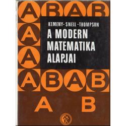 A modern matematika alapjai