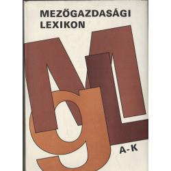 Mezőgazdasági lexikon I-II. kötet