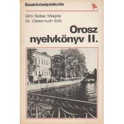 Orosz nyelvkönyv szakközépiskola II.