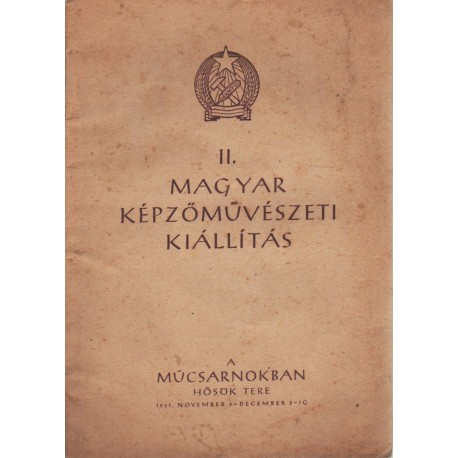 II. Magyar Képzőművészeti Kiállítás