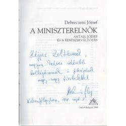 A miniszterelnök (dedikált)