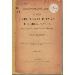 Gróf Széchenyi István idegrendszere